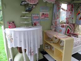 Camper Interior Decorating Ideas by Cath Kidston Vintage Caravan Garden Room Lady Shed Playroom Sewing