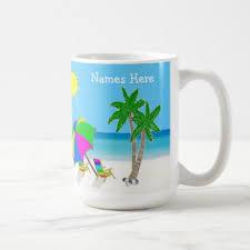 Beach Themed Gifts Beach Themed Mugs Coffee Mugs U0026 Cups Zazzle Co Uk