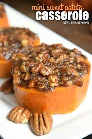 mini sweet potato casserole easy thanksgiving side dish