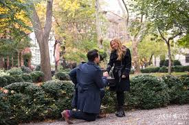 autumn gramercy park marriage proposal ash fox photography