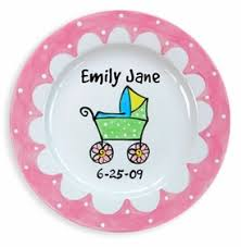 personalized baby plate personalized baby gift plates big big gifts