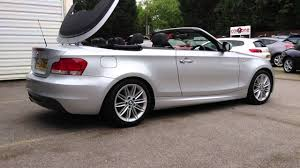 2009 bmw 128i convertible for sale bmw 1 series cabriolet 118 m sport 2 0 for sale at carzone