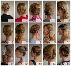 directions for easy updos for medium hair full instructions hints and tips for creating over 30 hairstyles