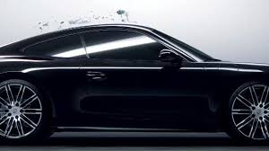 latest porsche porsche 911 black edition comes to life from black ink in latest