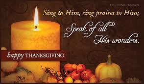 sing to him sing praises to him speak of all his wonders happy