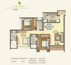 3 floor plan 3 5 bhk flats for sale in mulund west runwal greens mulund west