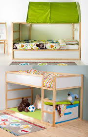Bunk Bed Canopy Tent Enchanting Bed Canopy Tent With 320 Best Ikea Kura Bed Ideas