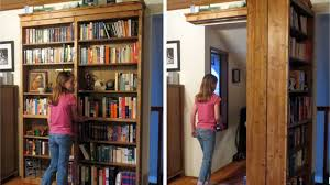 Build Your Own Bookcase Wall Build A Diy Sliding Door Bookshelf To Hide Your Secret Lair Diy