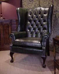 leather chairs of bath chelsea design quarter leather wing chair