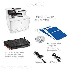 amazon com hp laserjet pro m477fdw multifunction wireless color