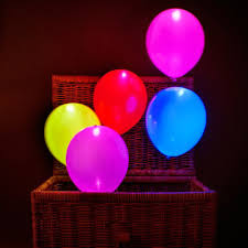 Lighted Balloons Gifts Online Led Balloons For Party Festival Celebrations Set Of