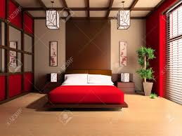 style chambre à coucher bedroom in modern style 3d image stock photo picture and royalty