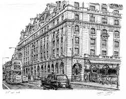 the ritz hotel piccadilly london drawings and paintings by