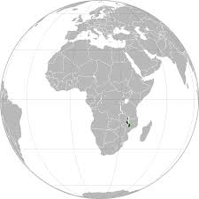 Malawi Map Location Of The Malawi In The World Map