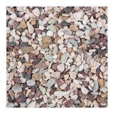 shop akasha 4 lb river rocks at lowes com