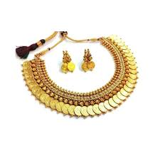 necklace set images images Buy zeneme gold plated necklace set for women online at low prices jpg