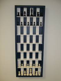vertical daily chess board 5 steps with pictures