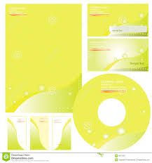 Business Letterhead Design Vector Letterhead Template Design Vector Royalty Free Stock Photo