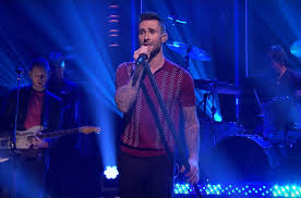 maroon 5 u0027s u0027tonight show u0027 performance u0026 adam levine u0027s interview
