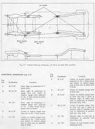 67 69 camaro u0026 firebird frame deminsions rod forum