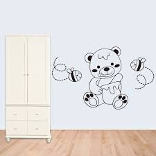 bear decorations for home aliexpress com buy 9170 free shipping diy art decal decoration