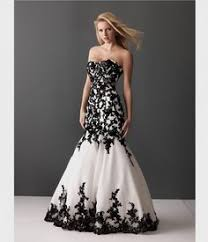 black and white wedding dresses black and white evening dress cheap prom dresses 2012 from prom