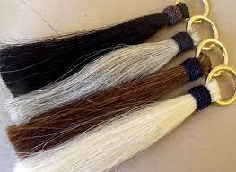 Shoo Hair shoo fly tassel horsehair tassel thick shoo fly tassel brass o