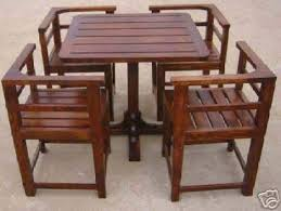 breakfast table and chairs handcrafted wooden dining table set space saving furniture
