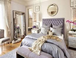 mirrored bedroom set furniture wood parquet floor under ceiling