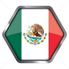 Mexico Flags Mexico Flag Hexagon Frame Vector Image 1340768 Stockunlimited