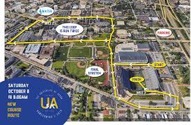 University Of Akron Map Ua 5k The University Of Akron