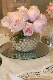 Pink Vase Fillers Comemoração De Noivado Isis E Felipe Shabby Centerpieces And