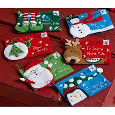 bucilla letters to santa envelopes felt applique kit 4