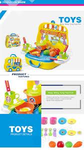 jeu de cuisine pour filles vente chaude mini valise jeux de cuisine jouer ensemble jouet