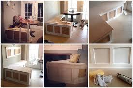 interior reclaimed elm bench seat with storage door detail bench