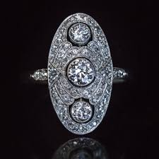art deco engagement rings antique jewelry vintage rings