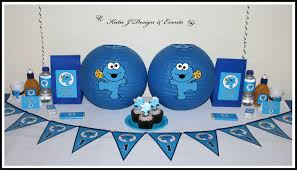 cookie monster table decorations shop online personalised cookie monster party decorations supplies