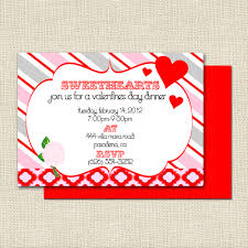 Online Invitation Card Interesting Valentine Day Party Invitation Card Ideas Remarkable