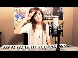 Blind Christian Female Singer Me Singing