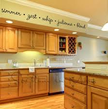 kitchen border ideas word wall decals borders kitchen words spices wall border