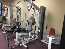 tuffstuff odyssey 5 gym with leg press used rx fitness equipment