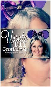 ursula the witch costume ursula costume diy tutorial big bear u0027s wife