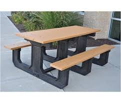 All Park Place Outdoor Picnic Tables By Jayhawk Plastics Options