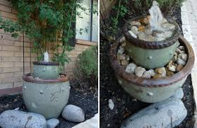 improving your landscaping skills diy garden fountains and