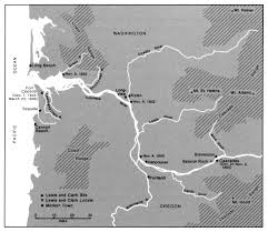 Lewis And Clark Map November 2 1805 Journals Of The Lewis And Clark Expedition