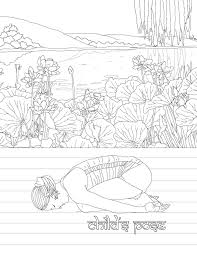 jewish coloring book the yoga poses coloring book book by m g anthony