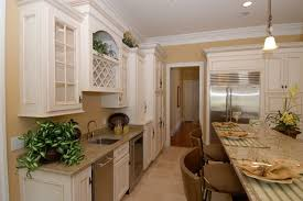 White With Brown Glaze Kitchen by Traditional Antique White Glazed Kitchen Cabinets Antique White