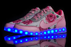 light up high tops nike nike low light up multicolored led lighting white pink for girls jpg