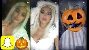 kylie jenner u0027s halloween eskimo costume on snapchat youtube
