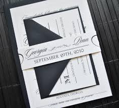 Hollywood Invitation Card Wonderful Wedding Invitation Belly Band Theruntime Com